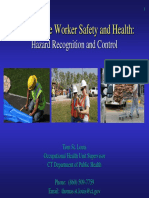 Disaster Site Worker Safety and Health