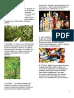 15 tipos de drogas