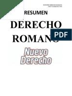 RESUMEN DERECHO ROMANO 2015 - ND
