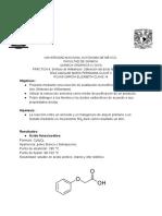 P8. Síntesis de Williamson_ Obtención del ácido fenoxiacético.