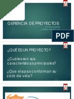 Ciclo de vida del Proyecto.