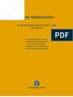 Waste Minimisation - An Environmental Good Practice Guide for Industry