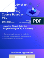 FIE2019_A Case Study of an Integrated Programming Course Based on PBL