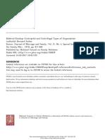 Bernard Farber 1975 - Centripetal and Centrifugal Types of Organization