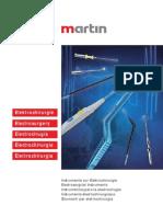 Accesorios Para Electrocirugia MARTIN