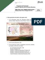 INFORME DEL 1ER DESPLIEGUE ESTADO LARA