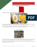 Mira lo que pasa cuando comes 3 huevos enteros todos los días, te sorprenderá cu