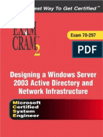 MCSE 70-297 Designing a Win Server 2003 Active Directory And