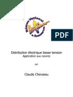 Distribution Electrique basse tension appliqué au navires