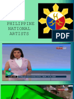 PHILIPPINE NATIONAL ARTISTS