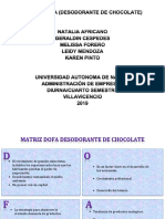 MATRIZ DOFA DESODORANTE DE CHOCOLATE