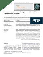 Trichoderma Species Form Endophytic Associations Within