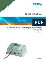 PTB330 User Guide English