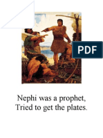 Nephi Follow the Prophet Flipchart