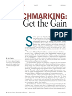 04. Benchmarking - Get the Gain