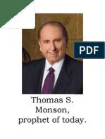 Monson Follow the Prophet Flipchart