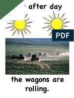 Covered Wagons Flipchart