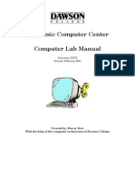 The Academic Computer Center Manual