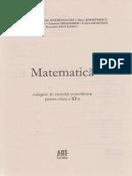 Matematica Clasa 11 Culegere de exercitii si probleme - M. Tena (1)