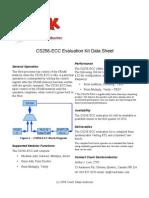 CS256-ECC Data Sheet