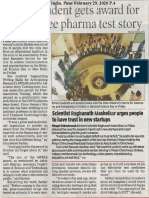 ScienceDay ToI 29Feb2020