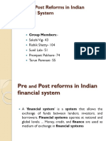 Pre and Post reforms in Indian financial system.pptx