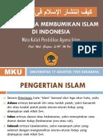 BAB 7 BAGAIMANA MEMBUMIKAN ISLAM DI INDONESIA