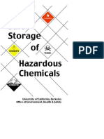 Chemical Storage Booklet