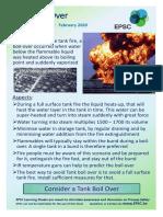 20.01 EPSC Learning Sheet - Tank Boil Over