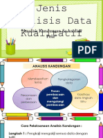 Jenis Analisis Data Kualitatif