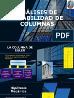 ANÁLISIS DE ESTABILIDAD DE COLUMNAS