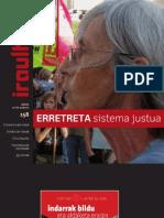 158 iraultzen (aldizkari sindikala, revista sindical, journal syndical)