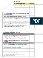 HSE Verification & Validation Checklist - Energy Isolation