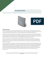 1200 Aironet Data Sheet Access Point