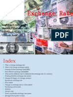 Foreign Exchange Rate Ppt Macroeconomics