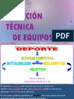 DIRECCION TECNICA DE EQUIPOS