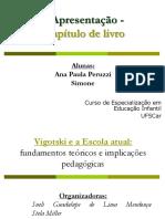 Apresentação - Fundamentos marxistas da obra Vigotskiana