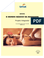 Oncologia, Massagem, Revista SENAC CE, Cláudio Marques