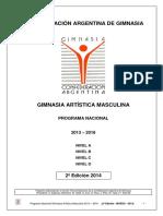 2013-2016 GAM PROGRAMA NACIONAL 2ª Edicion
