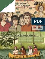 Calendario Tiempo de Mujeres 2019 SATE STE