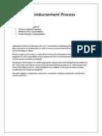Expense Reimbursement Process SOW