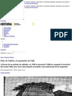 Pedro de Valdivia, el conquistador de Chile