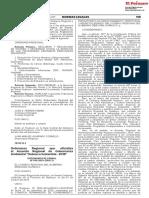 Ordenanza Regional de Gobernanza Ambiental
