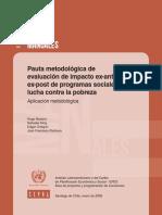 Texto_Sesión2_Navarro et al (2006) Evaluación Ex ante