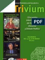 Trivium - I Encuentro Internacional de Oratoria, Discurso y Debate Político