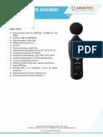 Sonómetro digital datalogger_SR6620