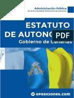 TEMA 3 ESTATUTO DE AUTONOMIA DE CANARIAS