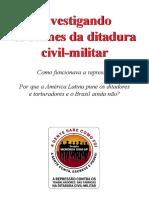 INVESTIGANDO OS CRIMES DA DITADURA