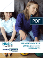 Walters Christopher (Ed.) - Teacher Guide to Music and Dyslexia.en.It