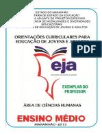 AREA DE CIENCIAS HUMANAS - EJA
